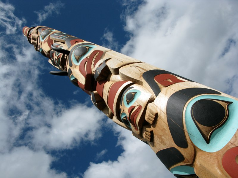 Two Brothers Pole: Sky View